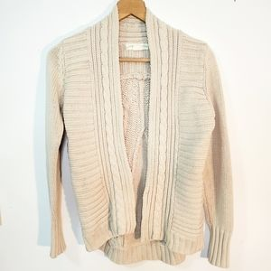 ANTHRO Staring at Stars open front cardigan